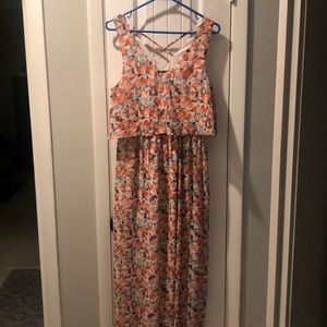 Lily Rose floral maxi dress